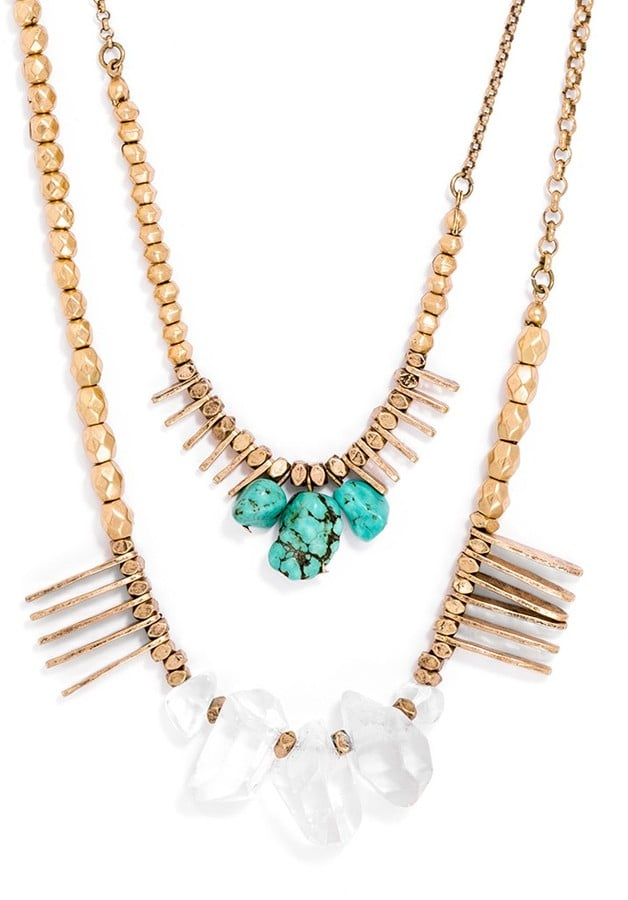 BaubleBar Jeweled Necklace