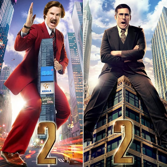Anchorman 2 Posters