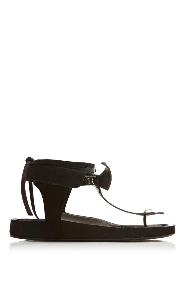 Isabel Marant Elva Bow Tie Sandal ($510)