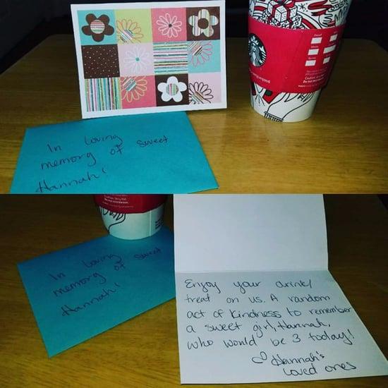 Mom Pays For Stranger's Starbucks in Honor of Late Child