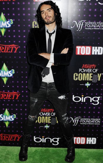 Pictures of Russell Brand and Katy Perry at the Variety Power of Comedy Event With Helen Mirren, Donald Glover, Aziz Ansari
