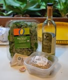Spinach Pesto with Sunflower Seeds Recipe