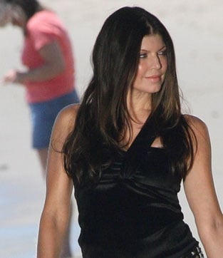 Fergie on the Beach