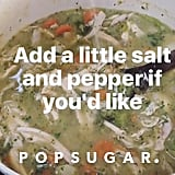 Lauren Conrad Chicken Pot Pie Recipe on Instagram
