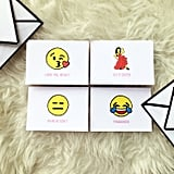 Emoji greeting cards ($25)