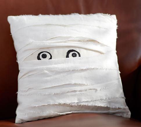 Pottery Barn Mummy Decorative Pillow ($32.50)