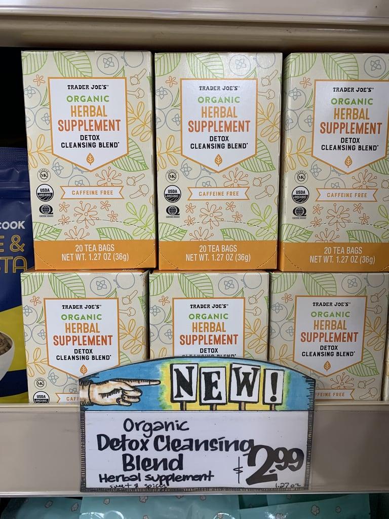 Trader Joe's Organic Detox Cleansing Blend Herbal Supplement