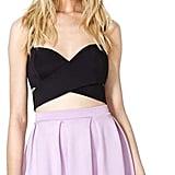 Nasty Gal Scuba Skater Skirt ($38)
