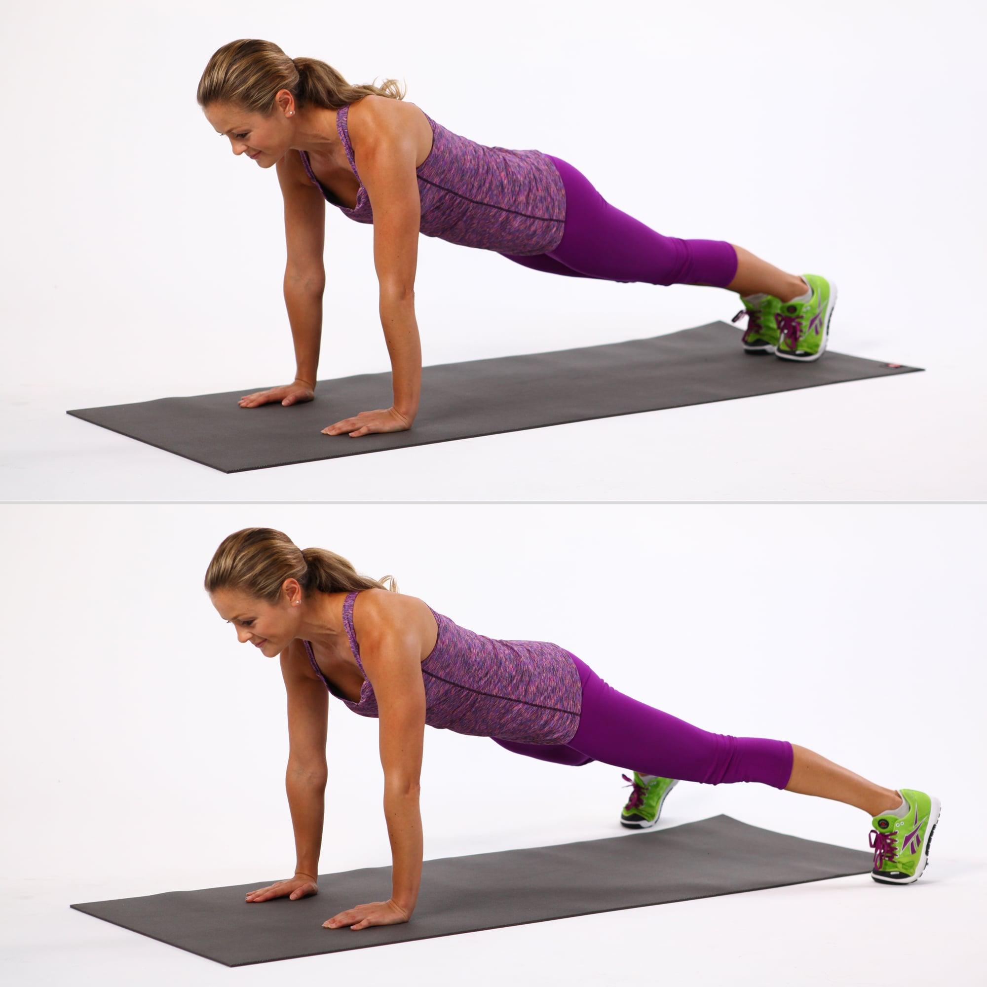 Best Plank Exercises   POPSUGAR Fitness