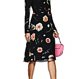 Narciso Rodriguez Floral Silk Dress