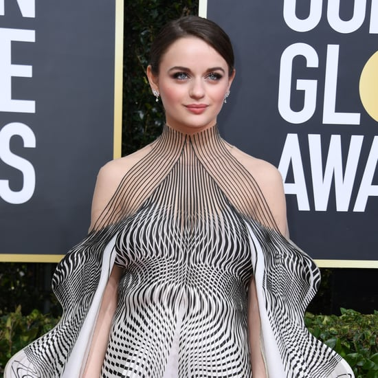 Joey King's Golden Globes Nail Art Was So Trippy