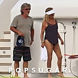Kate Hudson and Goldie Hawn on Vacation in Italy Photos 2019