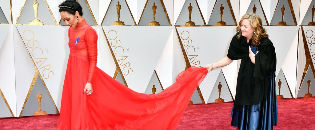 The Best Candid Moments From the Oscars Red Carpet