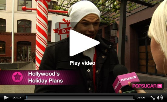 Nicole, Kellan, Zach and More Share Their Holiday Plans!