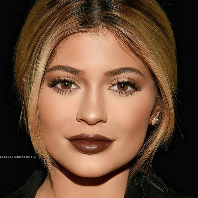 Another Photo of Kylie Wearing Her Lip Gloss