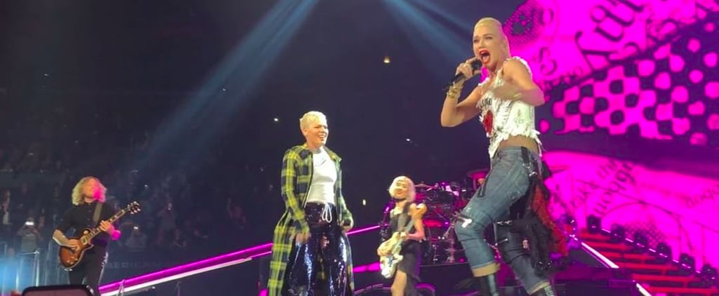 "Gwen Stefani and Pink Perform ""Just a Girl"""