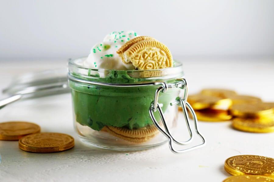 Mini Green Velvet Cheesecake