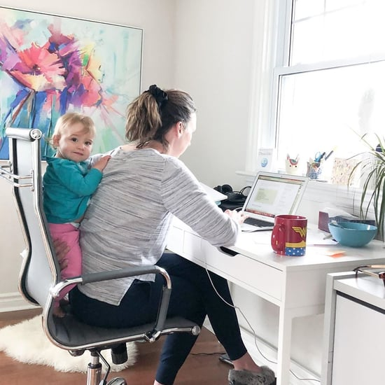 What Working From Home With Kids Looks Like | Photos