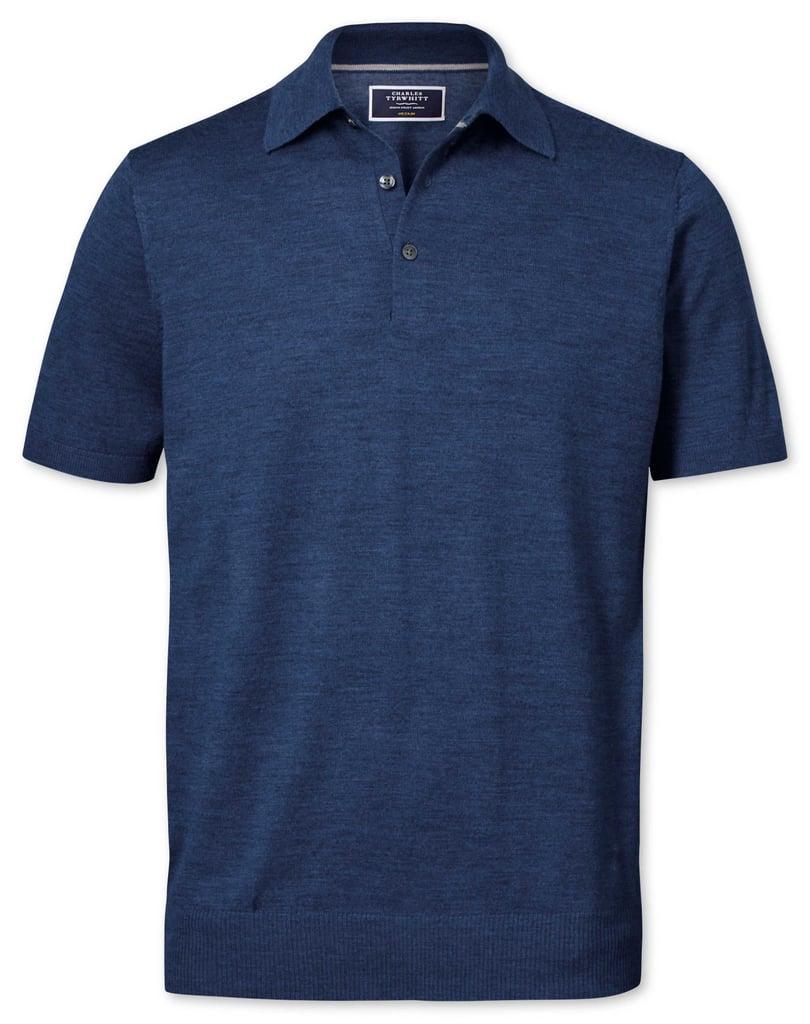 Shop the Look: Charles Tyrwhitt Mid Blue Polo