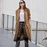 How to Wear Suede: A Duster