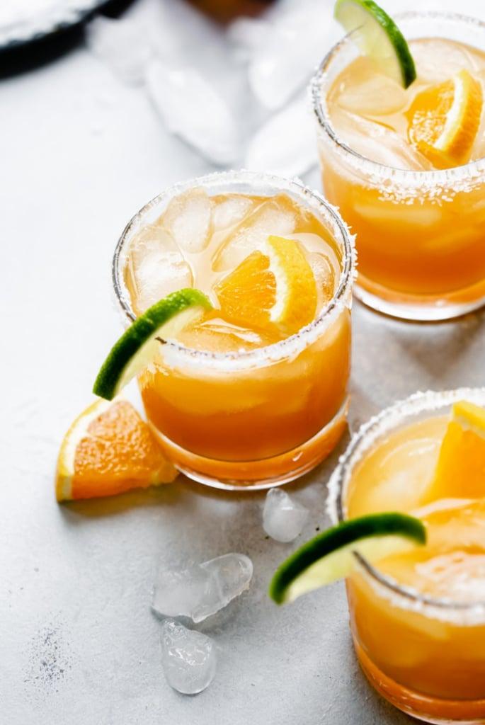 Italian Margaritas With Amaretto