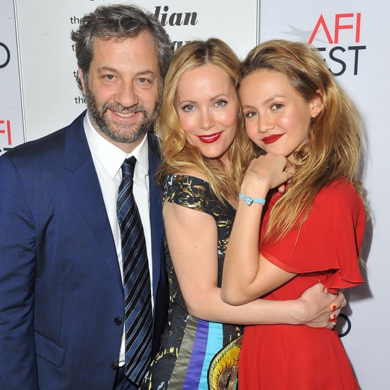 Judd Apatow and Leslie Mann With Daughter November 2016