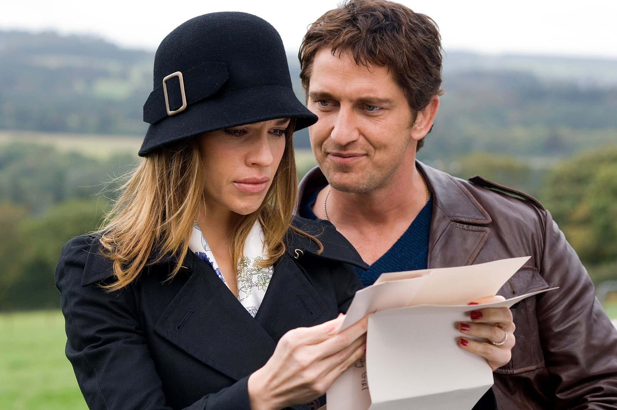 P.S. I LOVE YOU, Hilary Swank, Gerard Butler, 2007. Warner Bros./Courtesy Everett Collection