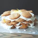 Vegan Coconut Lemon Jam Cake
