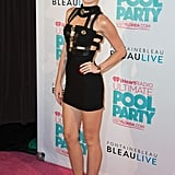 Miley Cyrus Brings Her Long Legs to a Star-Studded Pool Party