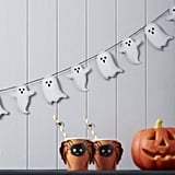 Ginger Ray Spooky Ghost Halloween Garland Bunting Decoration