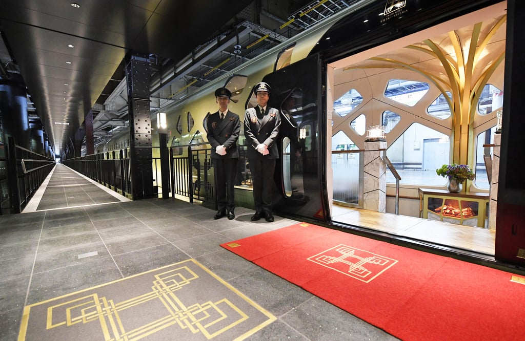Japan train suite shiki shima national geographic best for Best train vacations in the world
