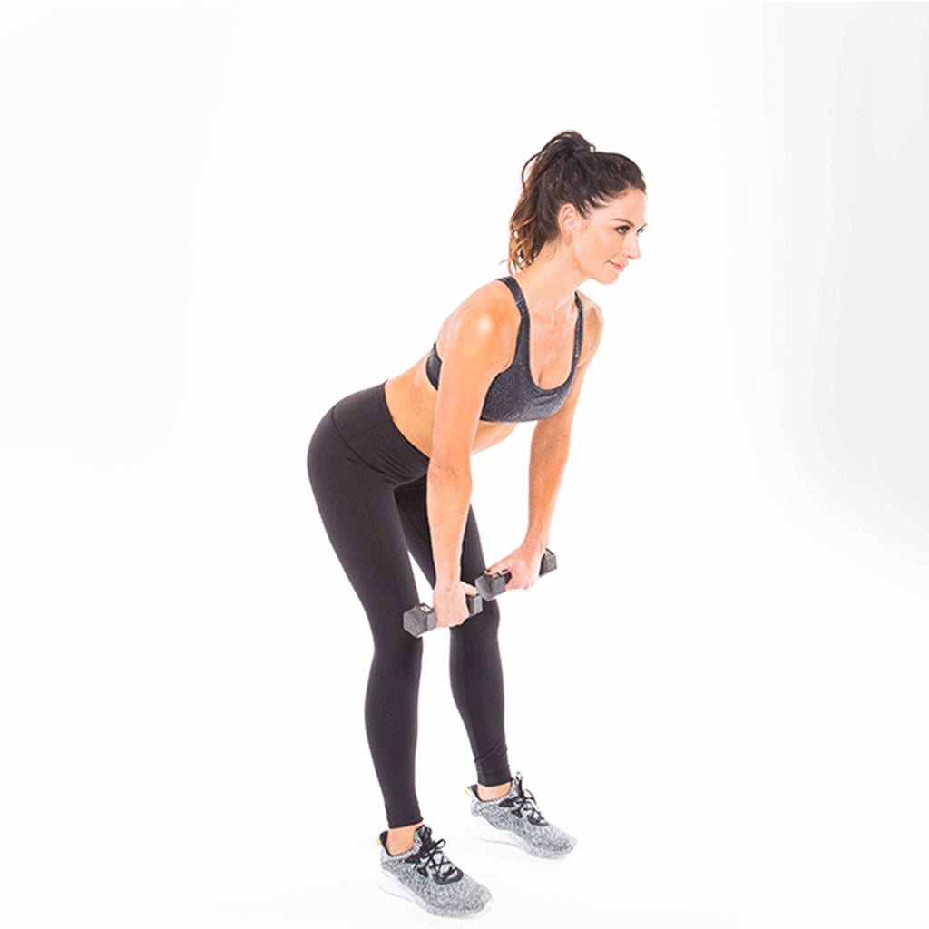 Feel Like a Badass With Tone It Up's Full Body Dumbbell Workout