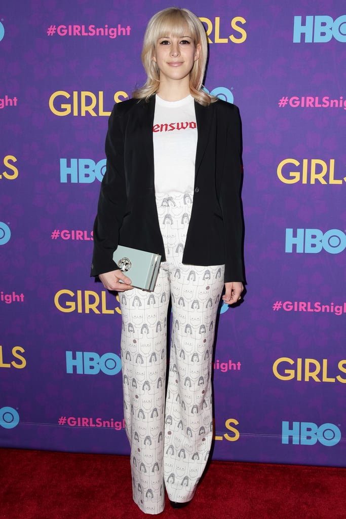Rachel Antonoff at the Girls premiere.