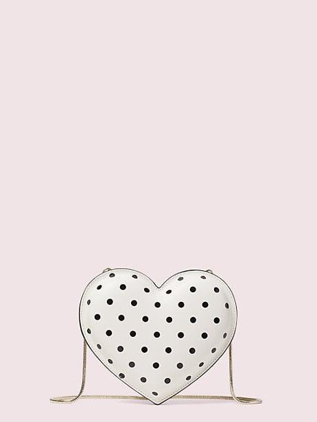 3D Cabana Dot Heart Crossbody