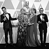 Sam Rockwell, Frances McDormand, Allison Janney, and Gary Oldman