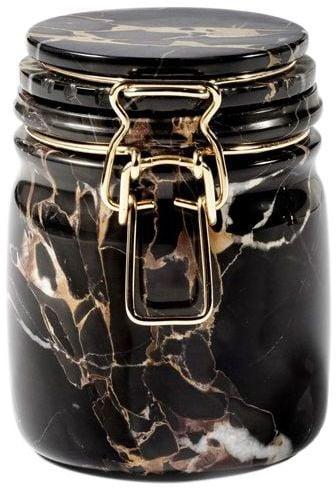 Editions Miss Marble Portoro Marble Jar
