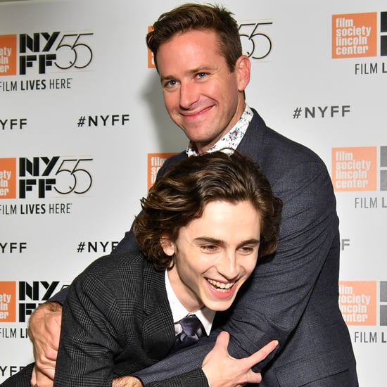 Armie Hammer and Timothee Chalamet Pictures