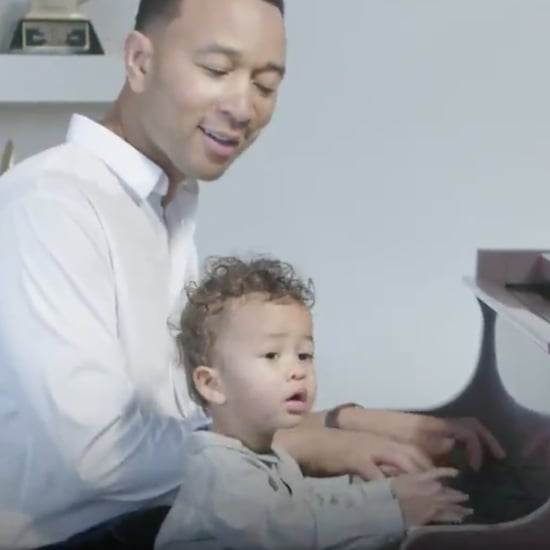John Legend Covers Ariana Grande on the Piano With Miles