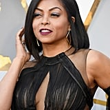 Taraji P. Henson Hair and Makeup at the 2018 Oscars