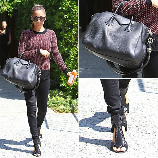 Nicole Richie Carrying Givenchy Bag