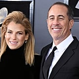 Jerry Seinfeld and Jessica Sklar