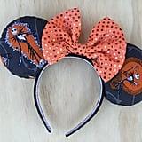 The Nightmare Before Christmas Jack Skellington Minnie Mouse Ears ($30)