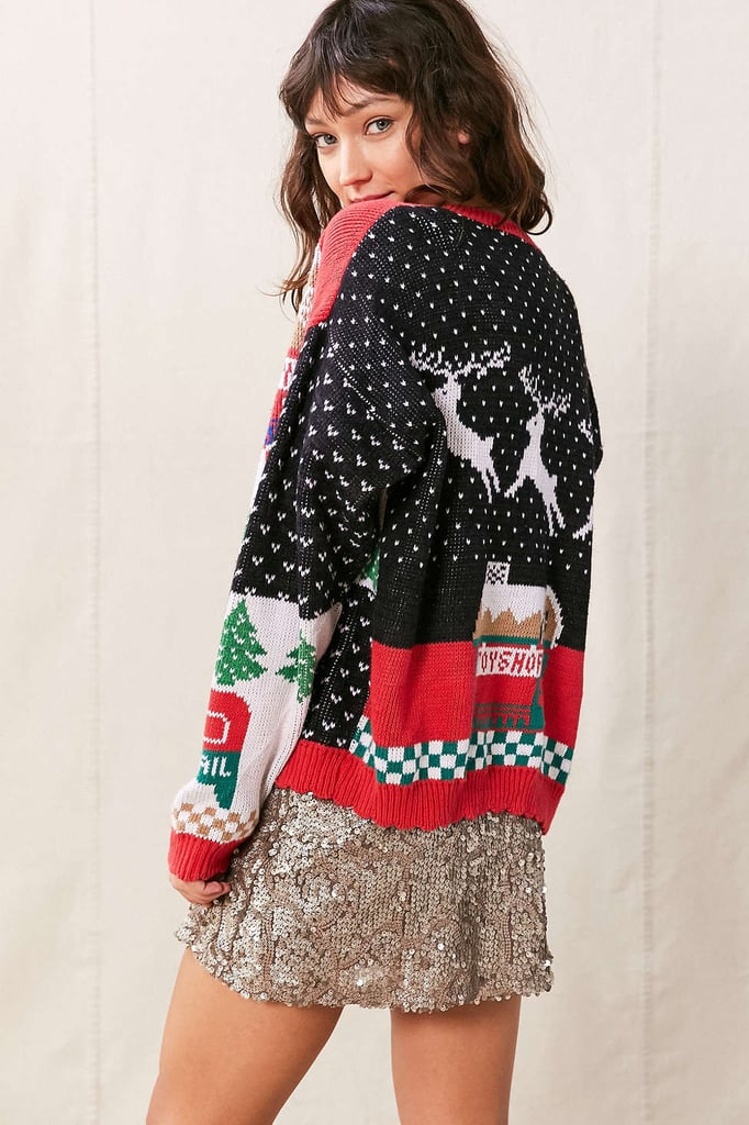 Urban Renewal Vintage Assorted Holiday Cardigan ($34)