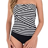 Miraclesuit Women's Mayan Stripe Muse Strapless One-Piece Swimsuit