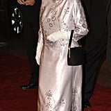 The queen was dressed in her James Bond best for the Casino Royale premiere in 2006.