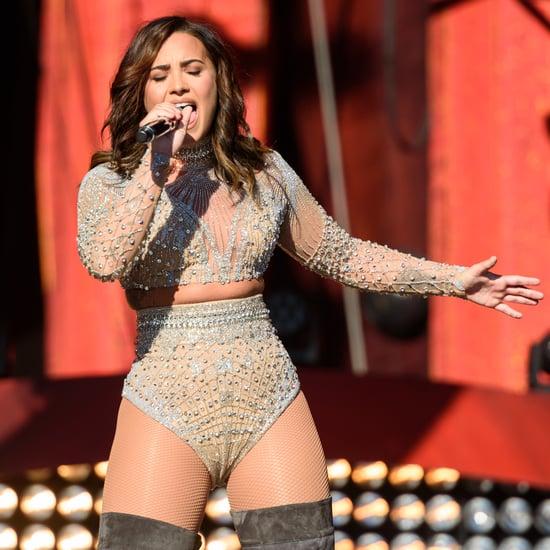 Demi Lovato Aretha Franklin Cover at Global Citizen Festival