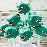 Dinosaur Theme Cake Pops