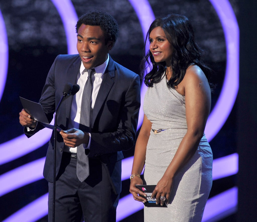 Donald Glover and Mindy Kaling