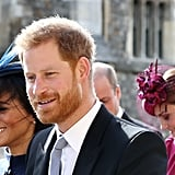 Meghan, Harry, Kate, and William at Eugenie's Wedding