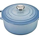 Round Dutch Oven in Coastal Blue